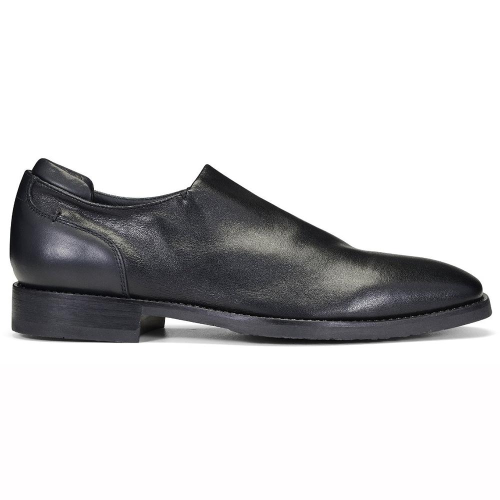 Donald Pliner Rexx Leather Shoes Black Image