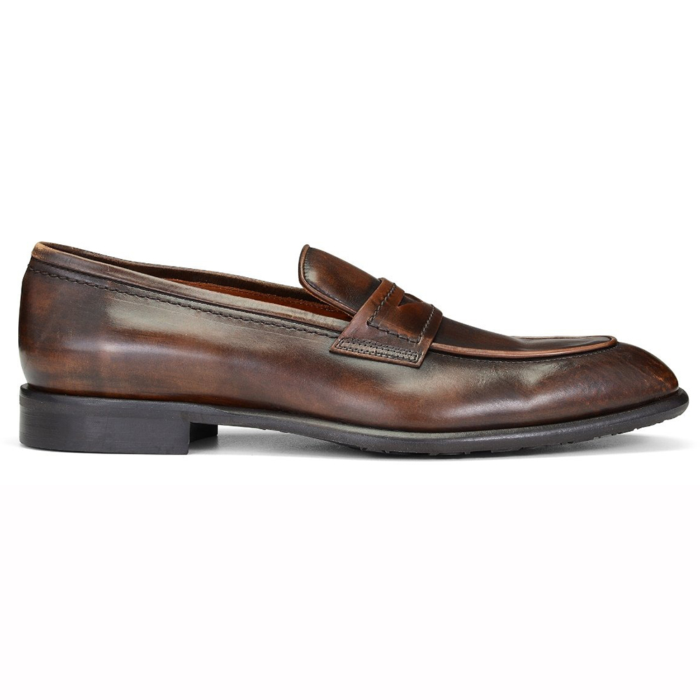 Donald Pliner Roderick Calfskin Loafers Tan Image