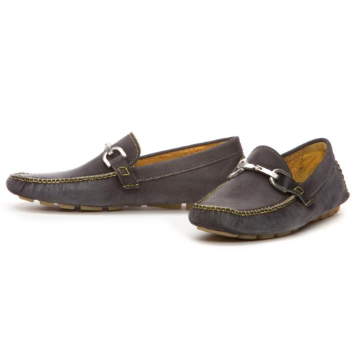 Propet Men s Wash & Wear Suede Slip On II Shoes (Black Suede) - 10.0 D