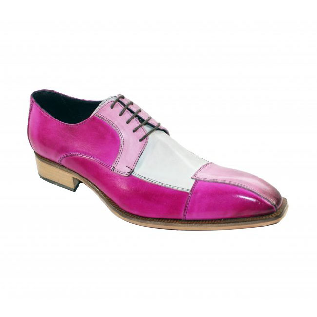 Duca by Matiste Torino Pink Combo Shoes Image