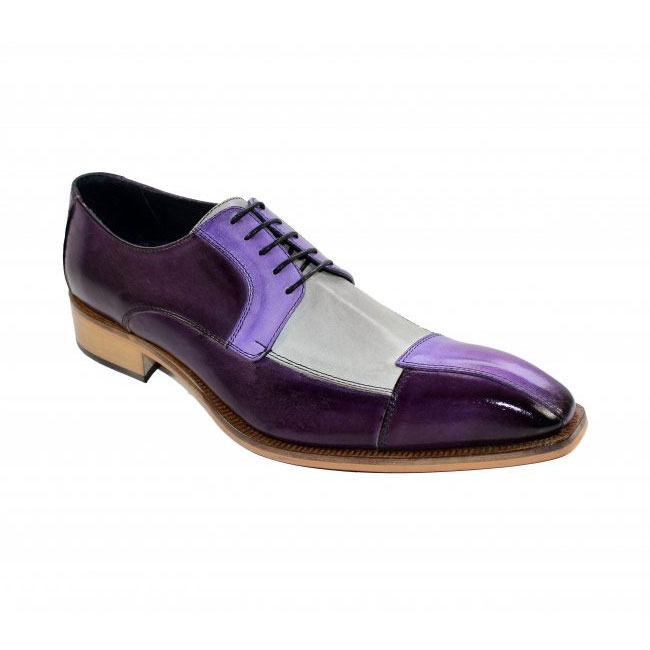 Duca by Matiste Torino Purple Combo Shoes Image