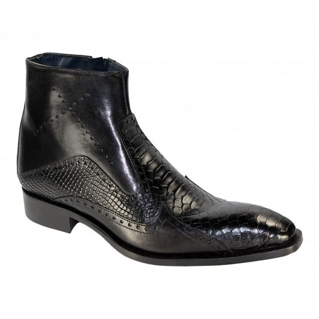Duca by Matiste Verona Black Boots Image