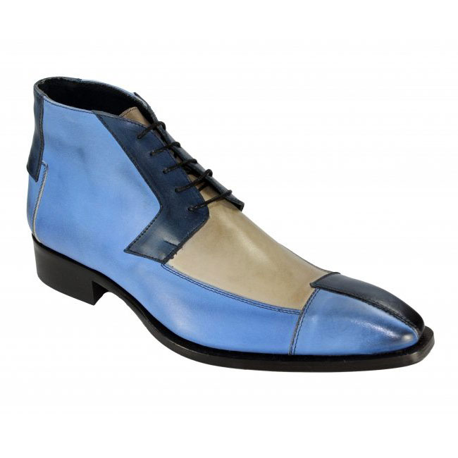Duca by Matiste 65 Blue Tri Boots Image