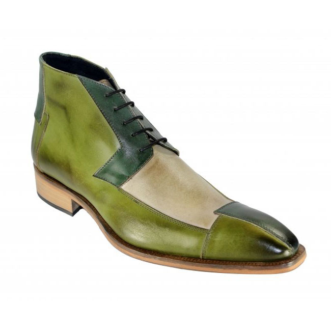 Duca by Matiste 65 Green Tri Boots Image