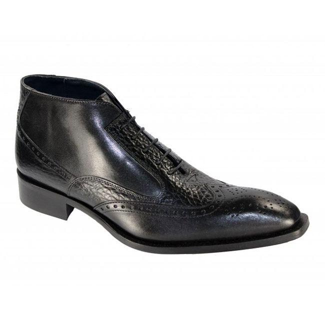 Duca by Matiste Ravenna Black Boots Image