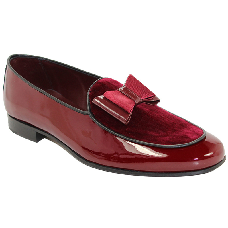 Duca by Matiste Amalfi Burgundy Shoes Image