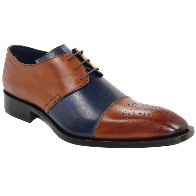 Duca by Matiste Ancona Brandy/Navy Shoes Image
