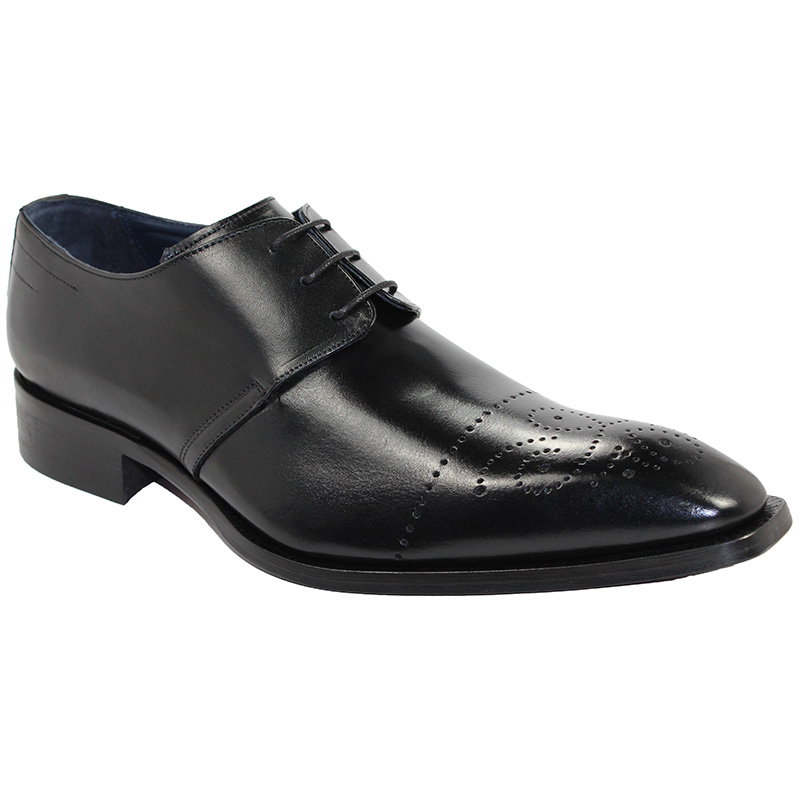Duca by Matiste Bologna Black Shoes Image