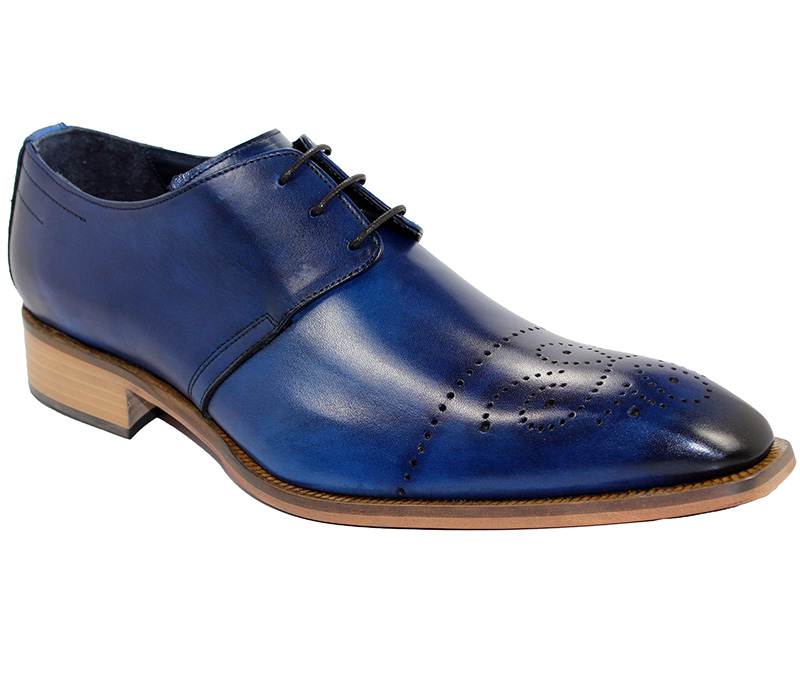 Duca by Matiste Bologna Ocean Blue Shoes Image