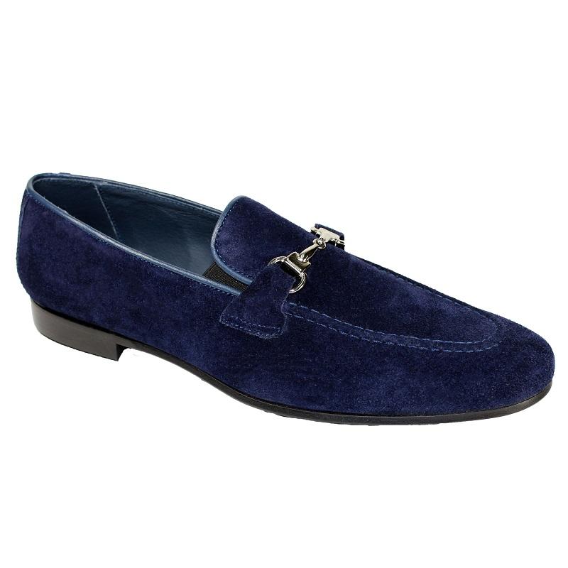 Duca by Matiste Forli Slip On Shoes Navy Image