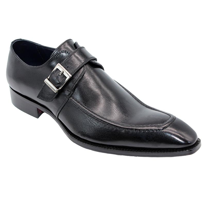 Duca by Matiste Garda Calfskin Shoes Black Image