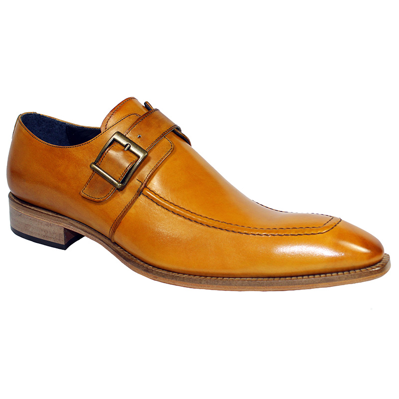 Duca by Matiste Garda Calfskin Shoes Camel Image