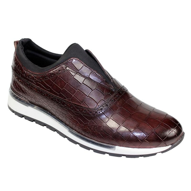 Duca by Matiste Imola Slip On Sneakers Burgundy Image