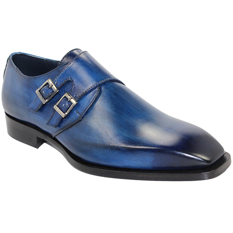 Duca by Matiste Latina Blue Shoes Image