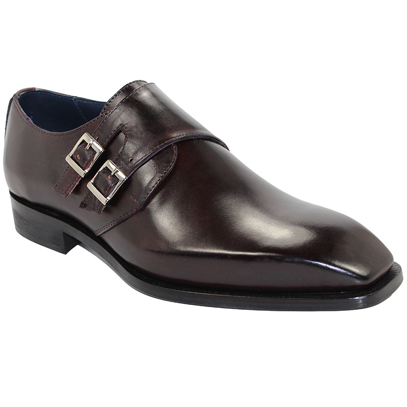 Duca by Matiste Latina Burgundy Shoes Image