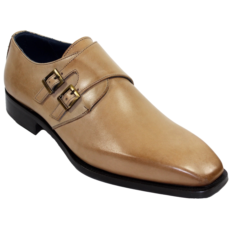 Duca by Matiste Latina Monk Strap Shoes Neutro Image