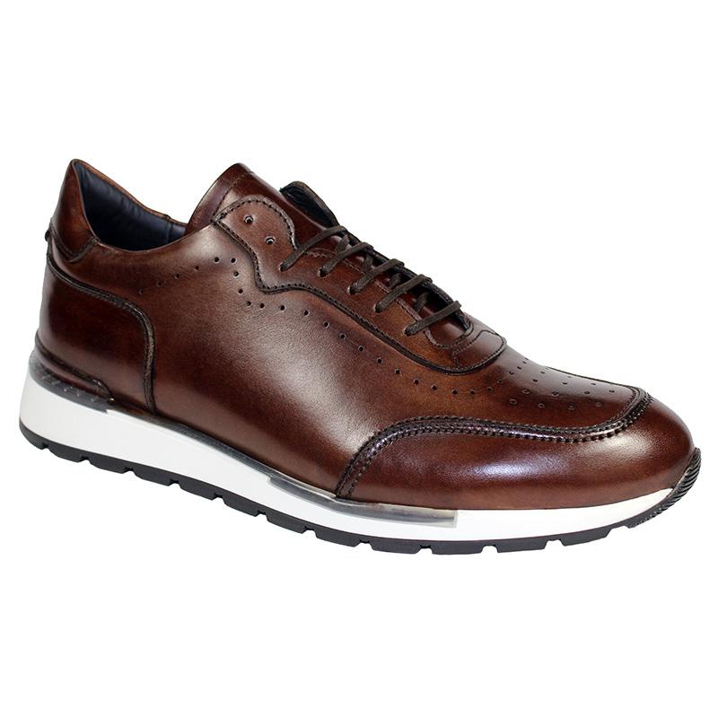 Duca by Matiste Marini Calfskin Sneakers Brown Image