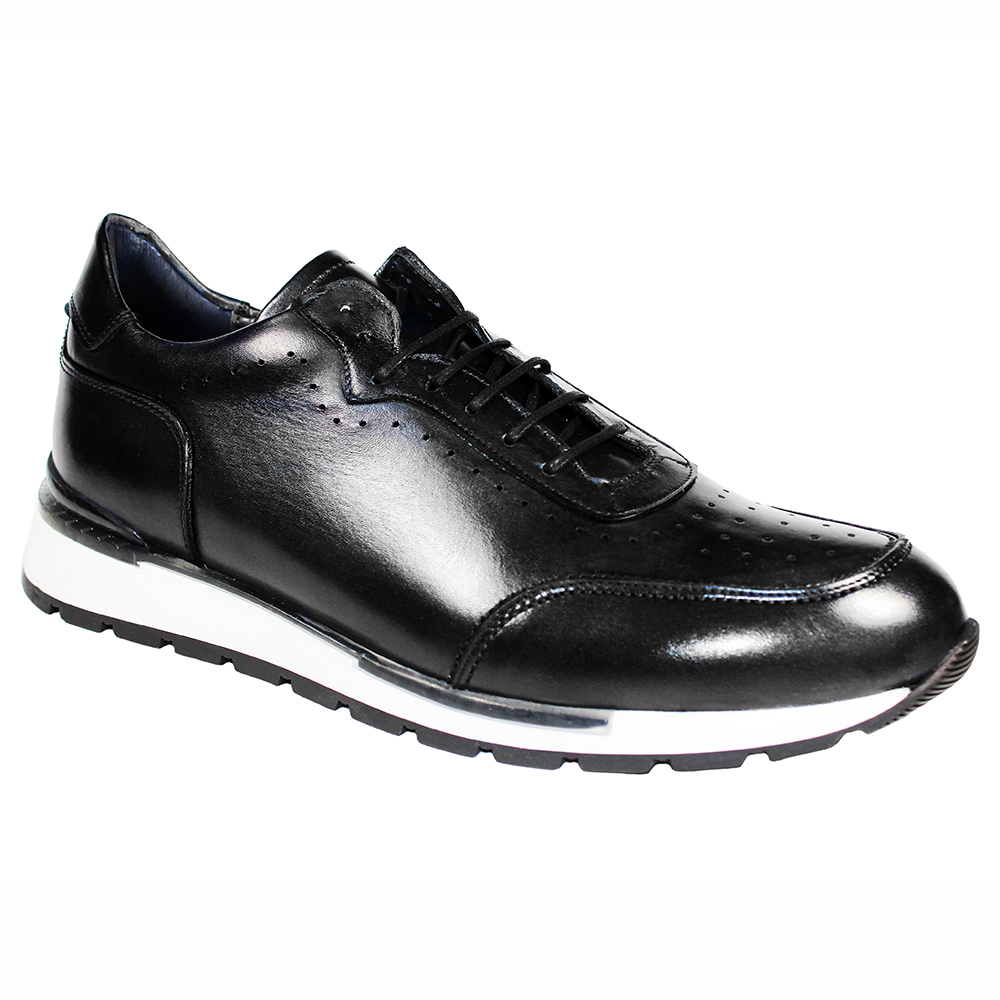Duca by Matiste Marini Leather Sneakers Black Image