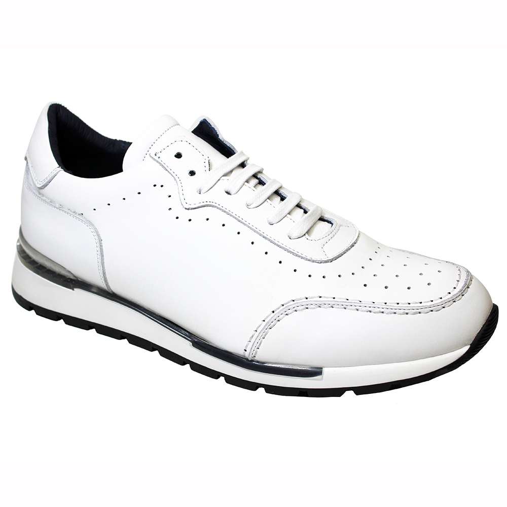 Duca by Matiste Marini Leather Sneakers White Image