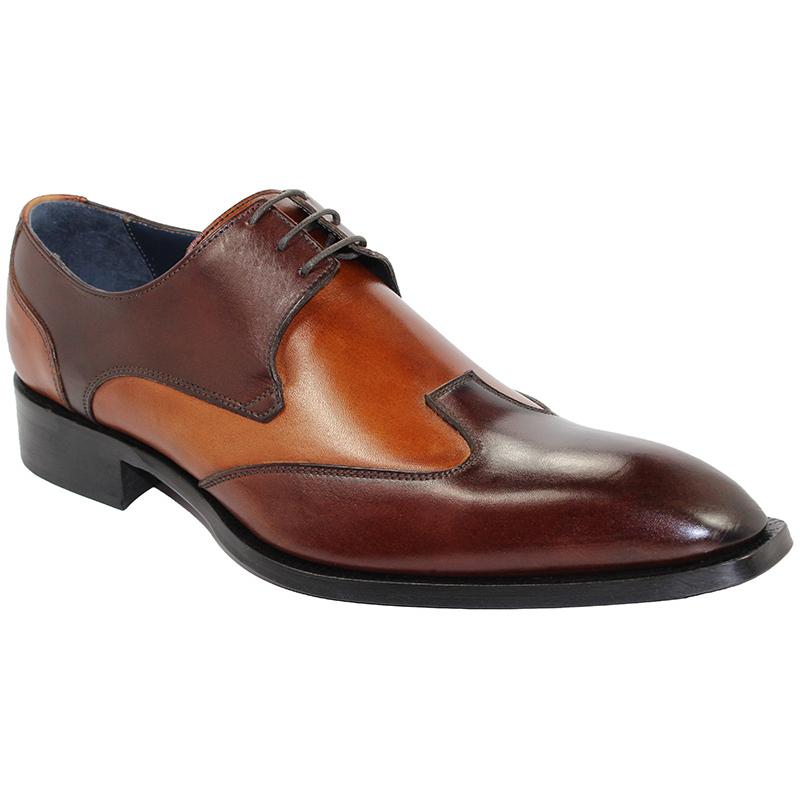 Duca by Matiste Milano Brown/Cognac Shoes Image