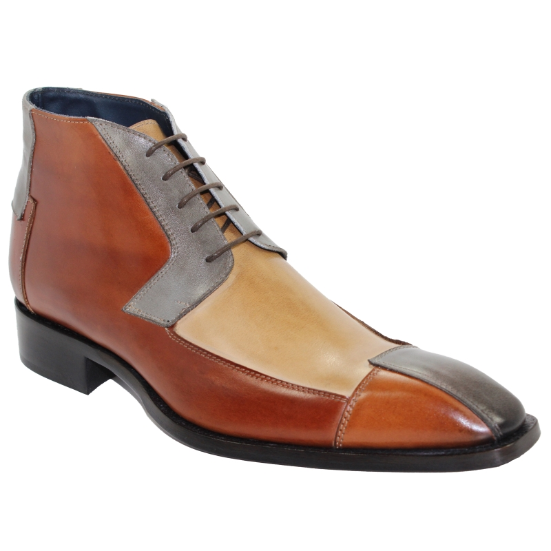 Duca by Matiste Palermo Boots Cognac Combo Image
