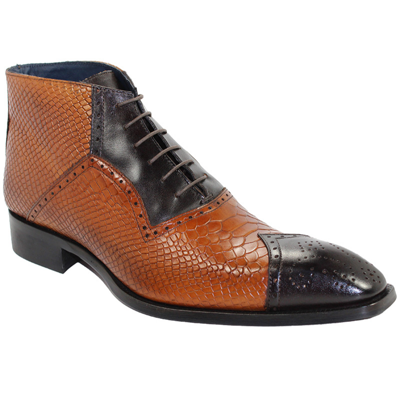 Duca by Matiste Parma Chocolate/Cognac Boots Image