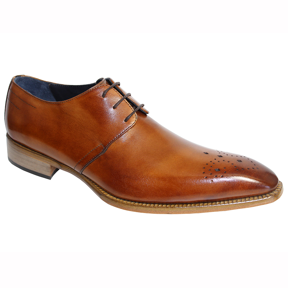 Duca by Matiste Pavona Leather Shoes Brandy Image
