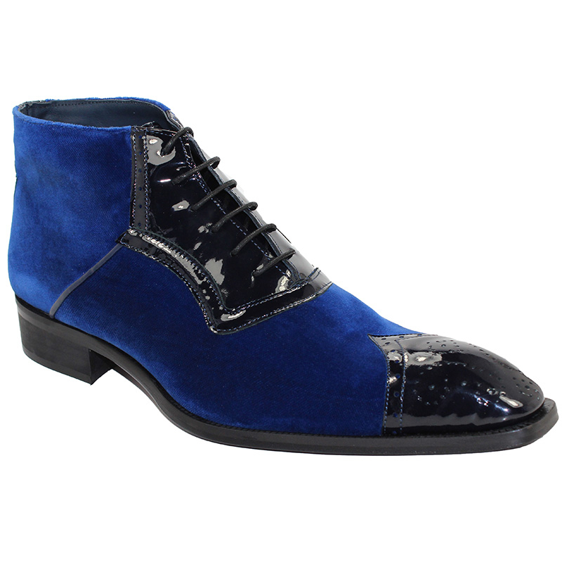 Duca by Matiste Perugia Blue Boots Image