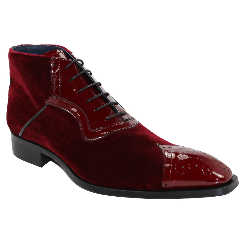 Duca by Matiste Perugia Boots Burgundy Image