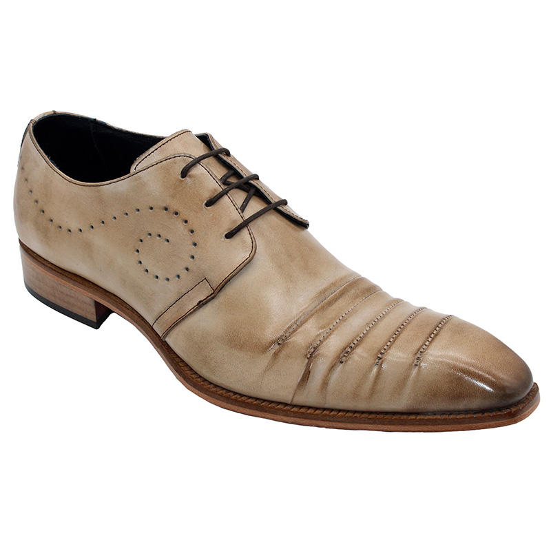 Duca by Matiste Pesaro Calfskin Shoes Taupe Image