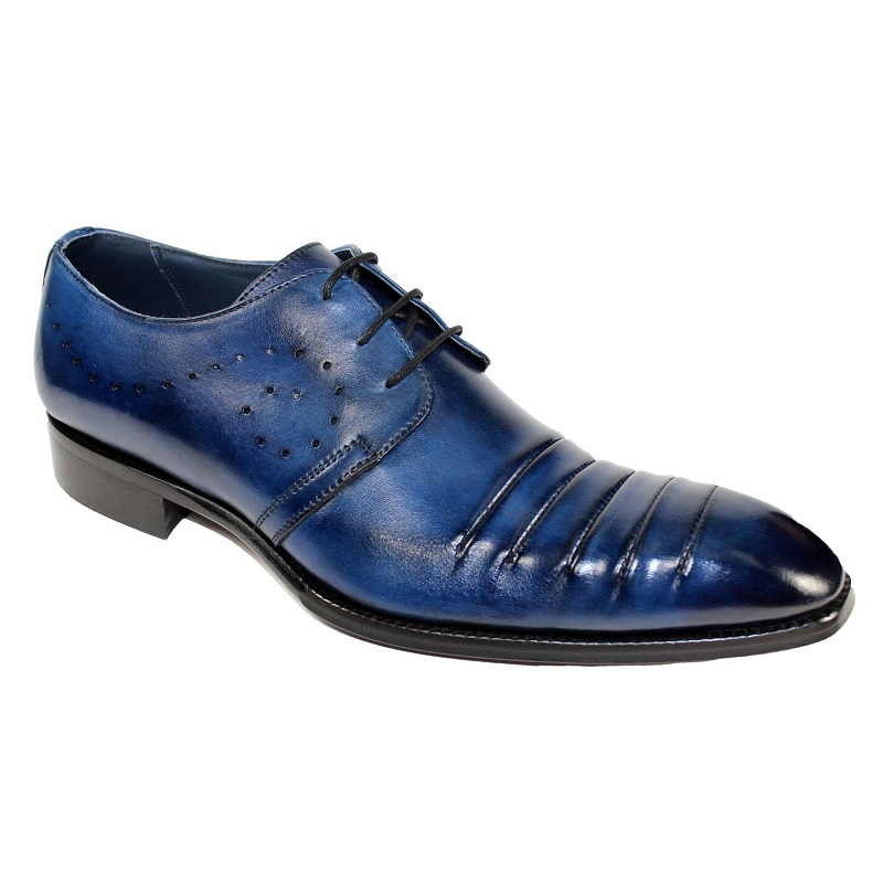 Duca by Matiste Pesaro Lace Up Shoes Navy Image