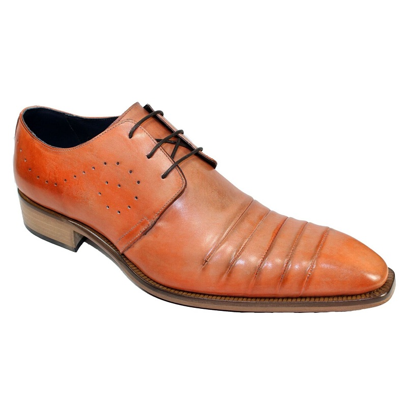 Duca by Matiste Pesaro Lace Up Shoes Peach Image