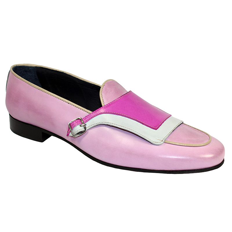 Duca by Matiste Potenza Calfskin Shoes Pink Combo Image