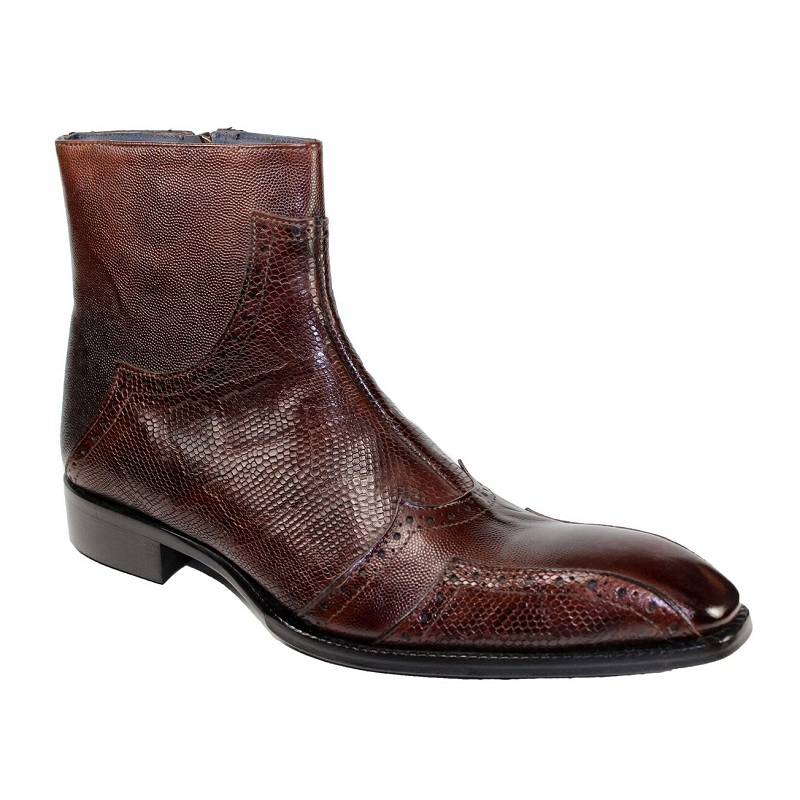 Duca by Matiste Prato Slip On Boots Chocolate Image