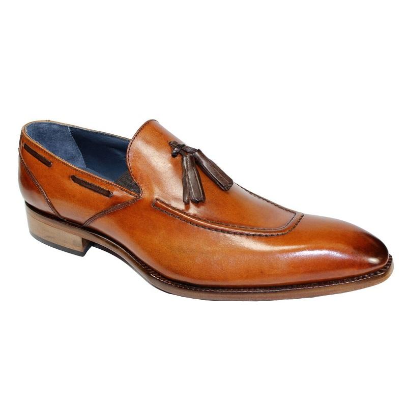 Duca by Matiste Rieti Cognac Slip On Shoes Cognac / Brown Image
