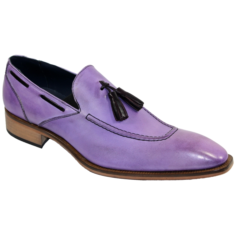 Duca by Matiste Rieti Tassel Loafers Lavender Image