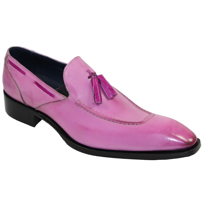 Duca by Matiste Rieti Tassel Loafers Pink Image