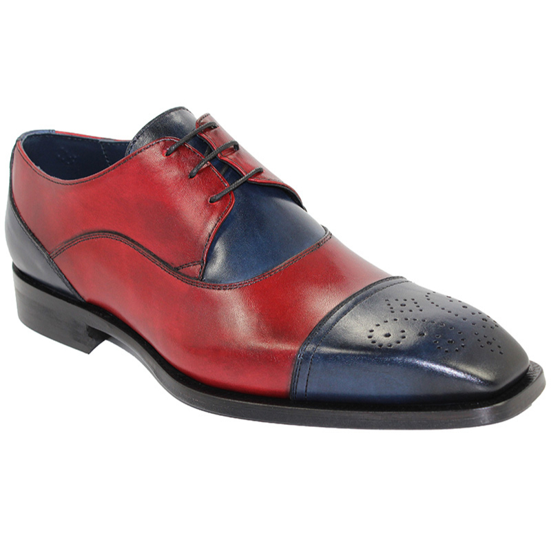 Duca by Matiste Roma Navy/Red Shoes Image