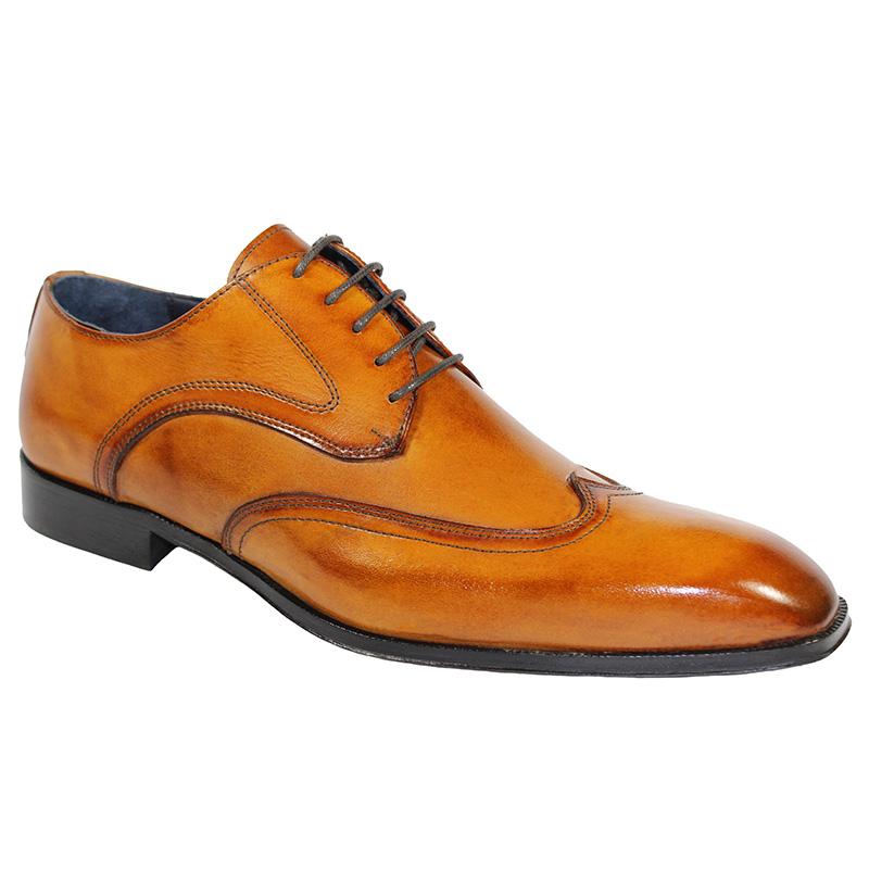 Duca by Matiste Rovigo Calfskin Shoes Cognac Image