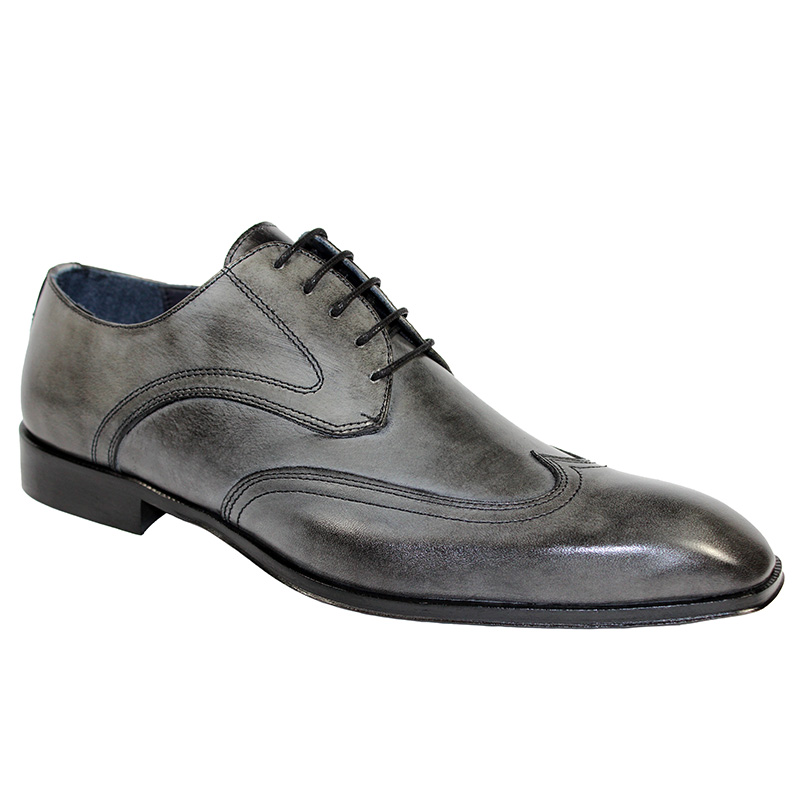 Duca by Matiste Rovigo Calfskin Shoes Grey Image