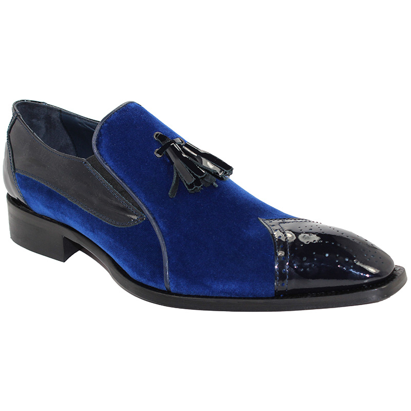 Duca by Matiste Sarno Blue Shoes Image