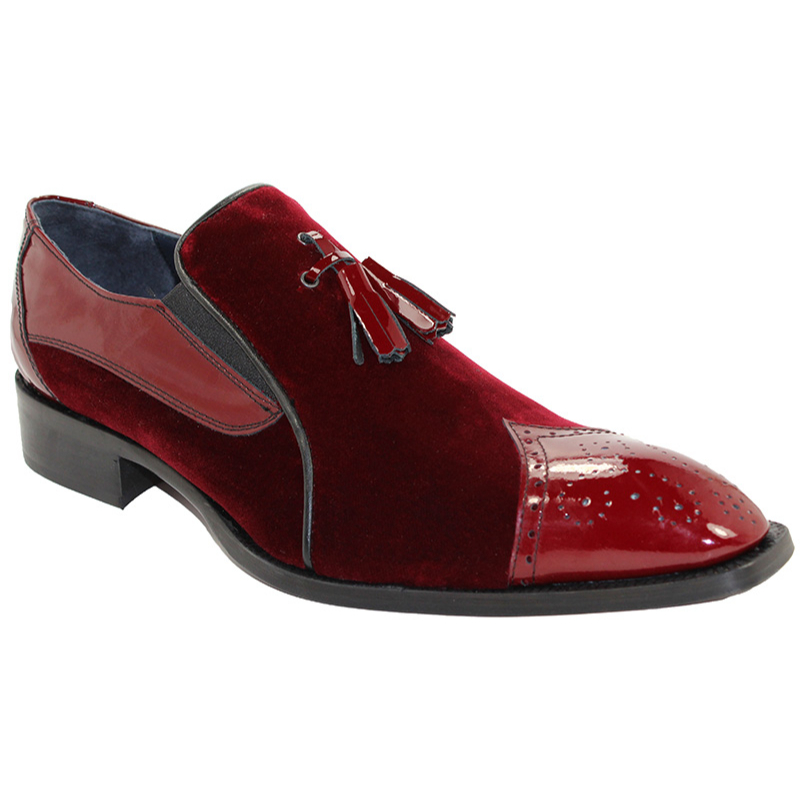 Duca by Matiste Sarno Burgundy Shoes Image