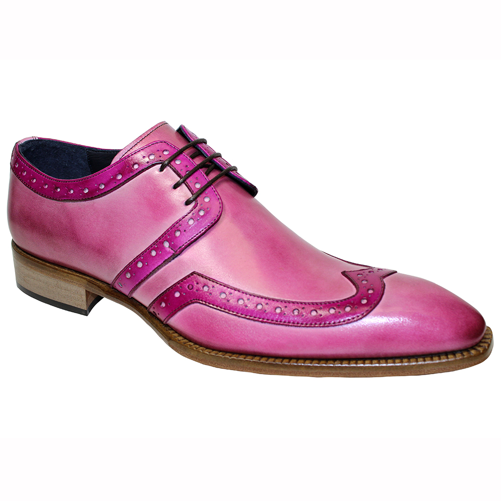 Duca by Matiste Savona Leather Shoes Pink / Fuscia Image