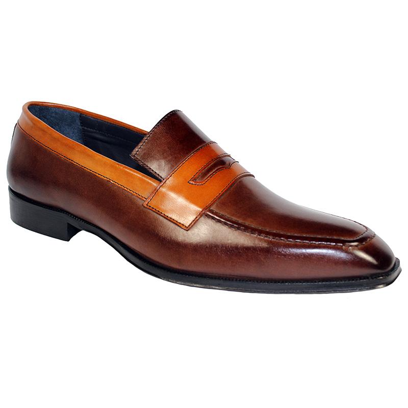 Duca by Matiste Terni Calfskin Shoes Brown Cognac Image