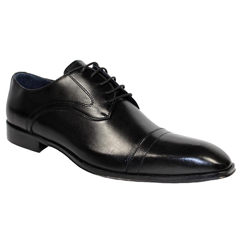 Duca by Matiste Trieste Calfskin Shoes Black Image
