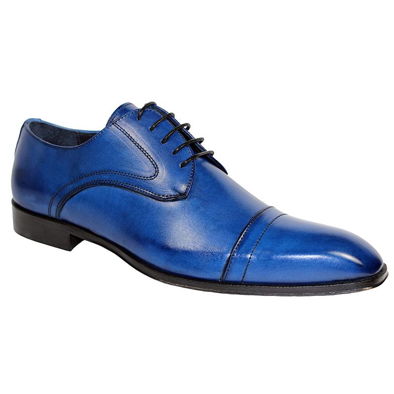 Duca by Matiste Trieste Calfskin Shoes Blue Image
