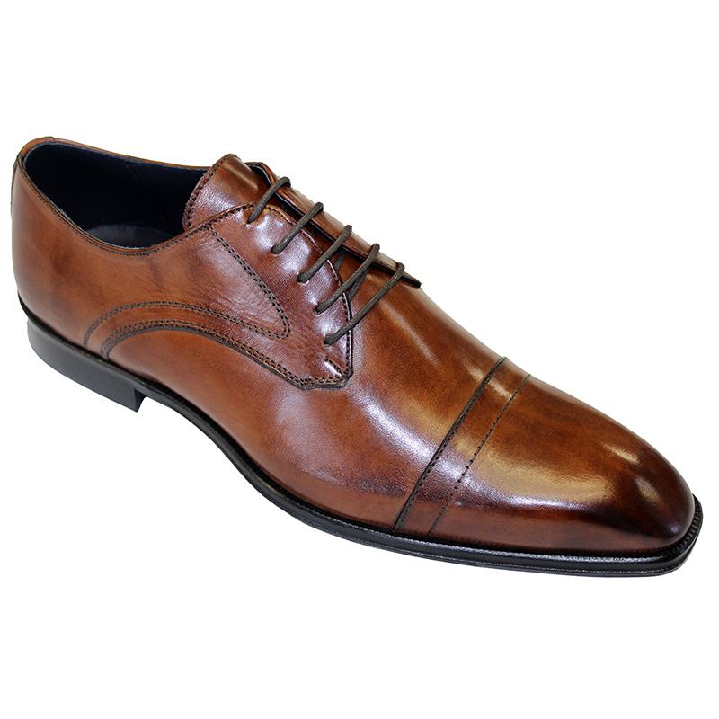 Duca by Matiste Trieste Calfskin Shoes Brown Image