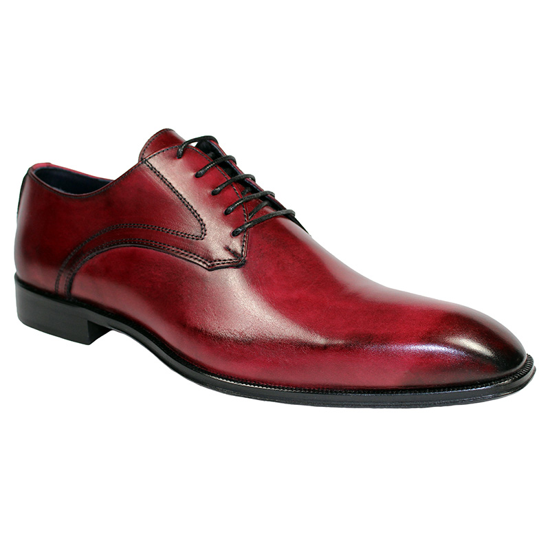 Duca by Matiste Varese Calfskin Shoes Antique Red Image