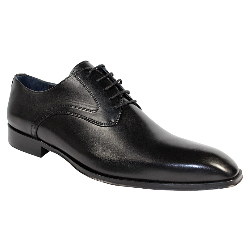 Duca by Matiste Varese Calfskin Shoes Black Image