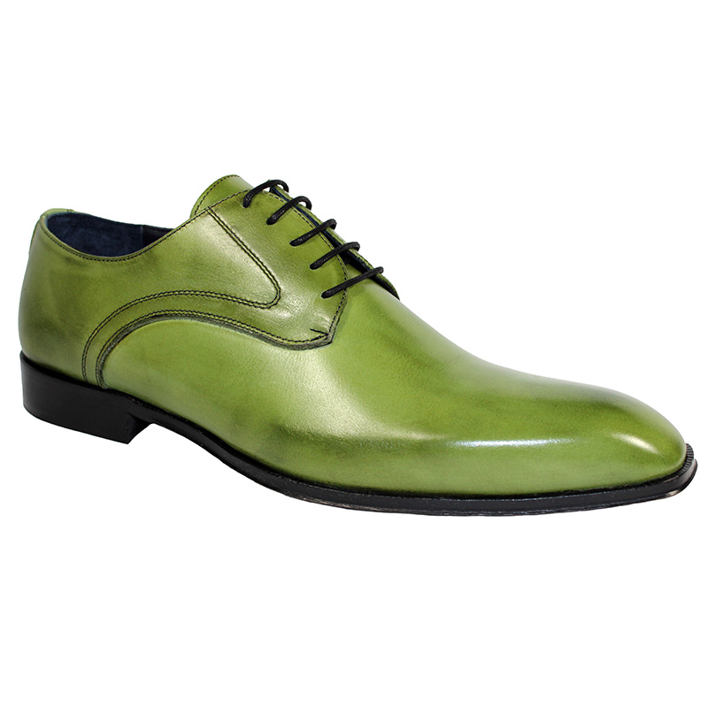 Duca by Matiste Varese Calfskin Shoes Olive Image